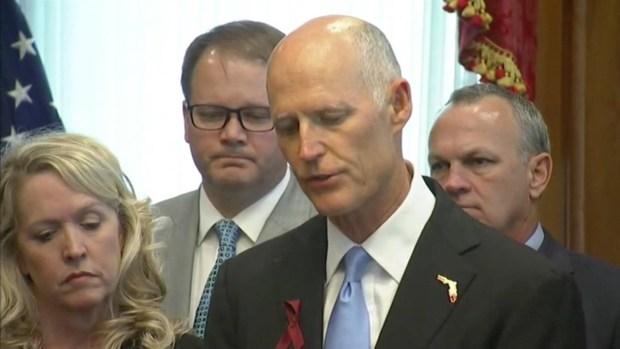 [NATL-MI] Florida Gov. Rick Scott Announces He's Signing School Safety Bill