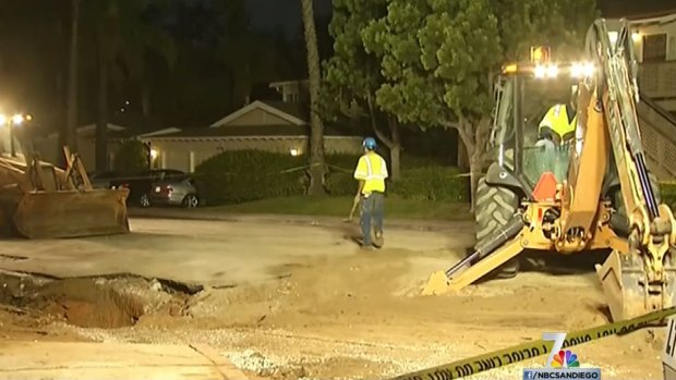 Crews Work Overnight to Restore Water in Birdland