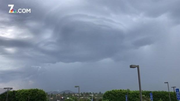 Strange Clouds, Lightning Spans County