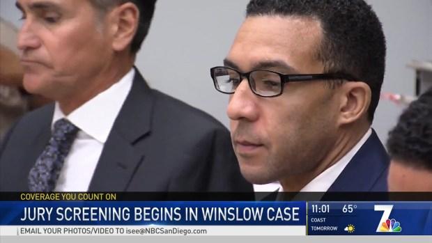 Jury Screening Begins in Winslow Case