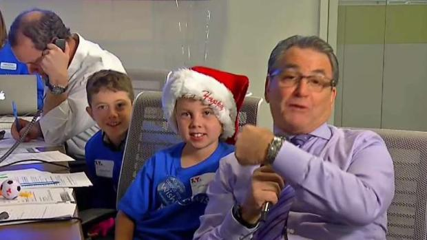 Wish Kids Help to Raise Money in Wish-a-Thon