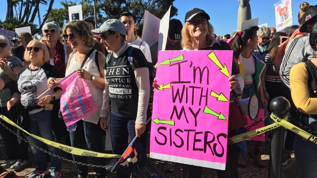 Locals Unite for 3rd Annual Women's March San Diego