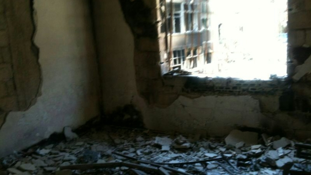 Syrian Family's Home Destroyed in Bombings
