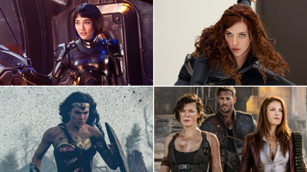 [NATL]The Fiercest Action Heroines to Grace the Big Screen