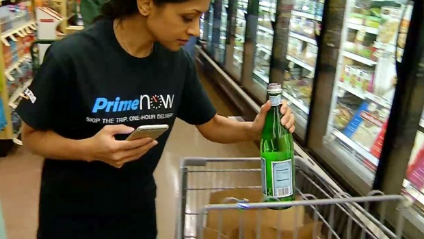 [DGO] Amazon and Google Offer Same-Day Grocery Delivery