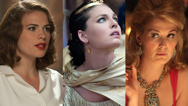 "Hayley Atwell, Alexa Davalos and Rosamund Pike Take Aim at Tom Cruise's ""One Shot"""