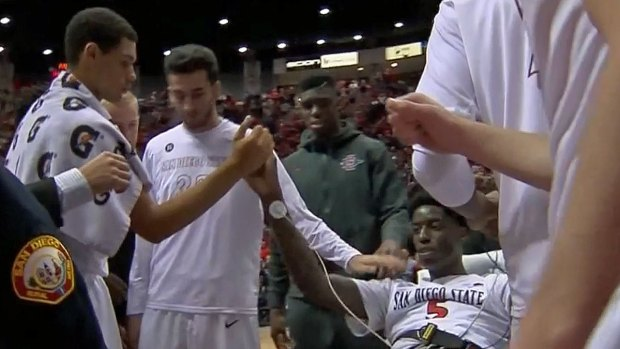 [DGO] Aztec Basketball Player Collapsed on Court