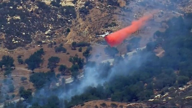 Images: Wildcat Canyon Road Wildfires
