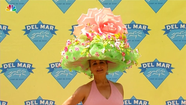 Best Hats at Del Mar Opening Day