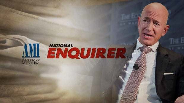 [NATL] Bezos Accuses National Enquirer of Blackmail