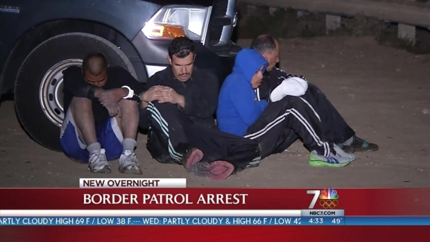 [DGO] 4 Men Arrested at Black's Beach in Human-Smuggling Event