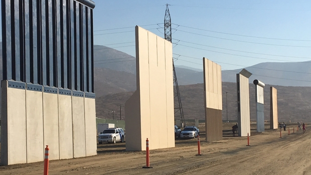 [DGO] Construction of Border Wall Prototypes Is Complete