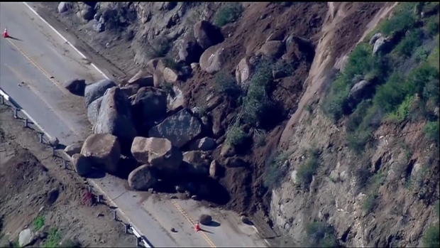 [DGO] Massive Boulders Close State Route 78