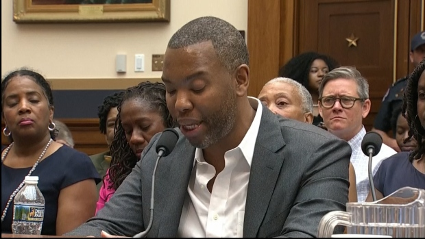 [NATL] Watch: Ta-Nehisi Coates' Full Opening Statement at House Hearing on Reparations