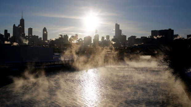 Bitter Cold: Videos and Pictures From the Midwest