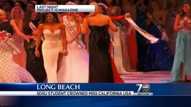 [DGO] SDSU Student Crowned Miss California 2014