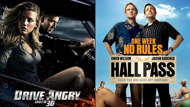 "This Week's Movies: ""Drive Angry,"" ""Hall Pass"""