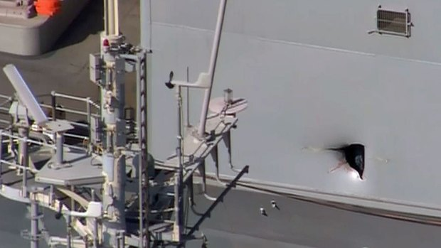 [DGO] Drone Damages Ship, Injures Sailors