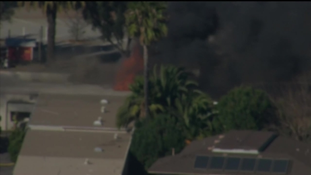 [DGO] Fire Spreads to El Cajon Building