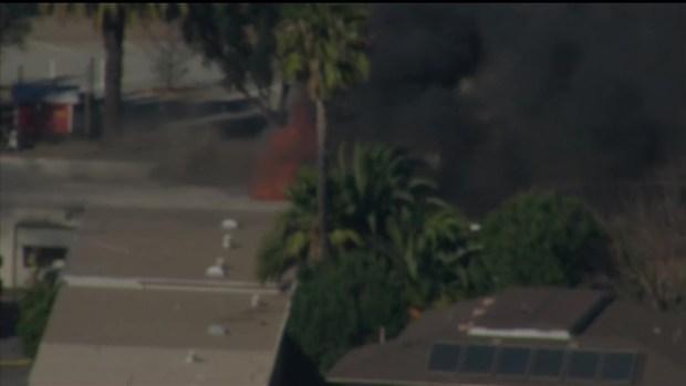 [DGO] Fire Spreads to El Cajon Building