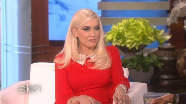 [NATL] Gwen Stefani Talks Blake Shelton on 'Ellen'