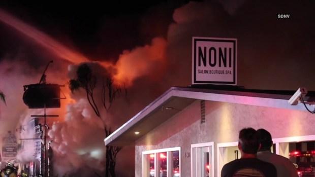 [DGO] Raging Fire Guts Leucadia Restaurant