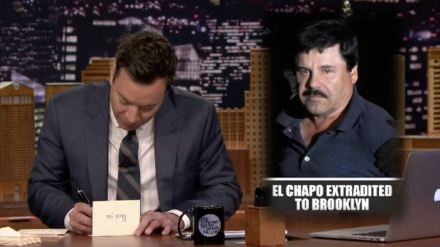 [NATL] 'Tonight Show' Thank You Notes to El Chapo and Waterbeds