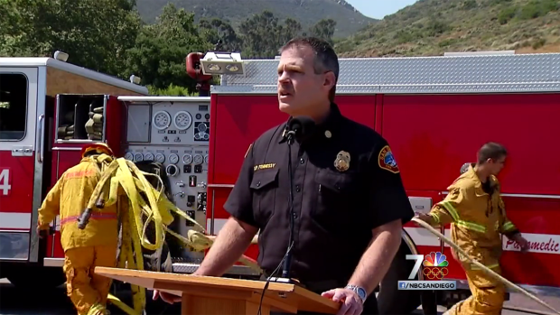 Firefighters Training for Wildfire Season
