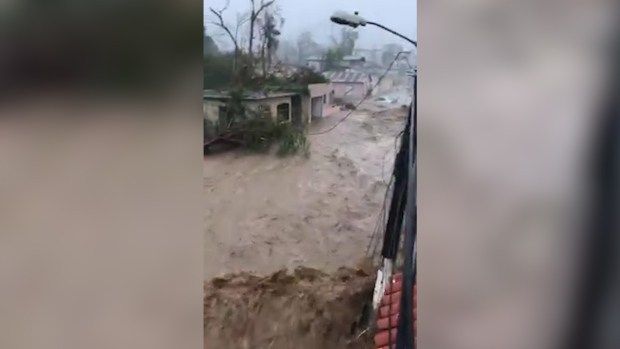 [NATL] Hurricane Maria Batters Puerto Rico