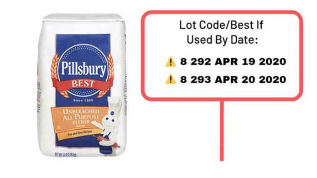 [NATL] Recall Issued for Pillsbury Flour Over Salmonella Fears