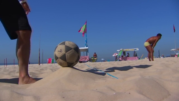 Steven Luke Reports from Rio: Foot Volley