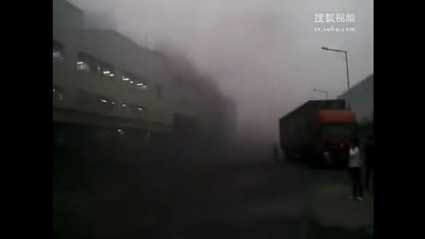 Deadly Explosion at Apple's Plant in China
