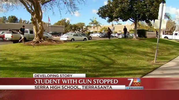 [DGO] Serra Student Brings Gun to Campus