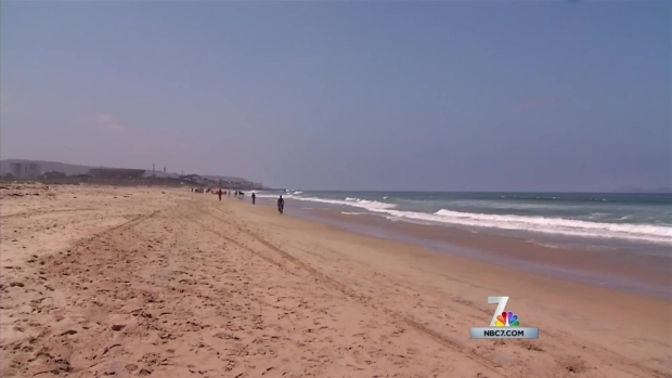 [DGO] Dead Whale at Imperial Beach Attracts Onlookers