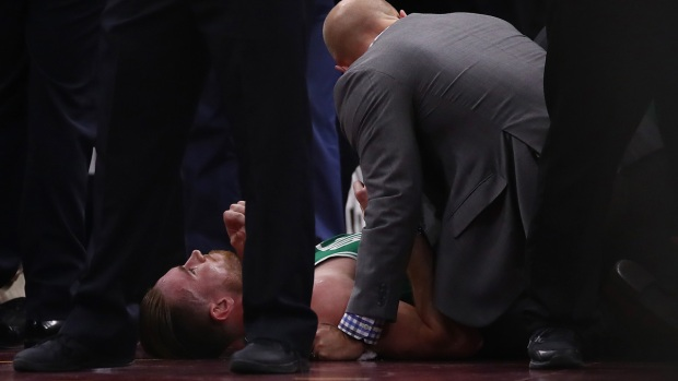 Top Sports: Gordon Hayward Injured in Debut With Celtics
