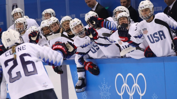 [NATL] USA Women's Hockey Starts Tourney With 3-1 Win
