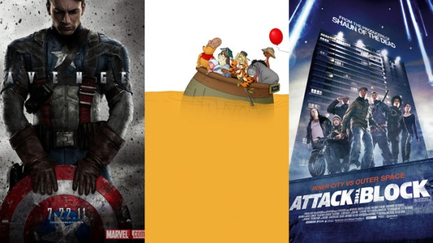 "New on Home Video: ""Captain America"", ""Attack the Block"" & ""Winnie the Pooh"""
