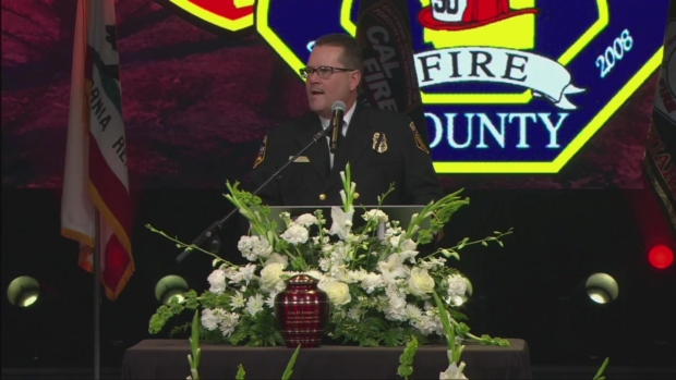 [DGO]'You're Stuck With Us' Cal Fire Chief to Fallen Firefighter's Widow