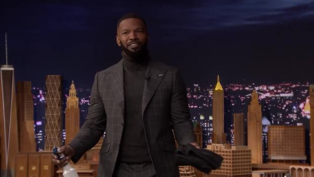 [NATL] 'Tonight': Jamie Foxx Has Footage of Whitney Houston Singing Karaoke