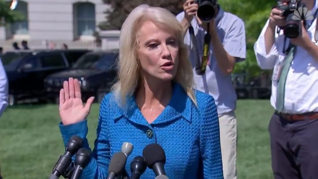 """[NATL] Conway Asks Reporter: 'What's Your Ethnicity?"""""""