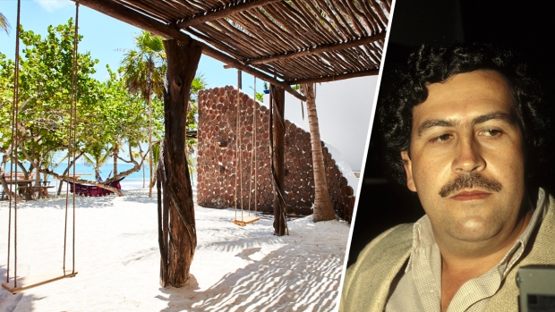 Pablo Escobar's Reputed Beachfront Hideout is Open to Guests