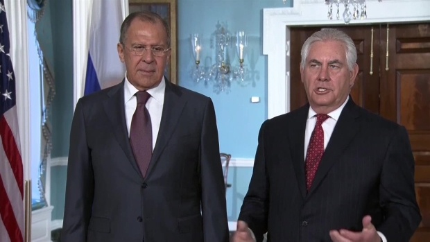 [NATL] Russian Foreign Minister Lavrov Meets in DC With Tillerson