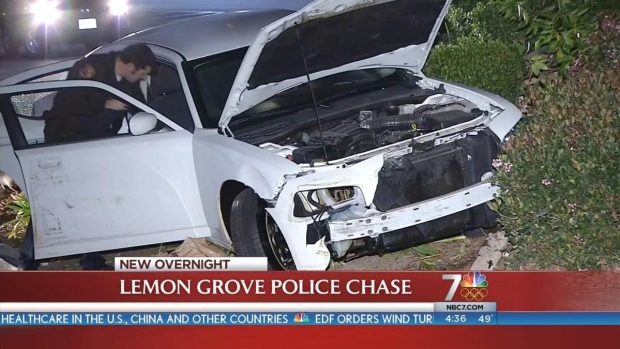 [DGO] Man Leads Police on Pursuit, Crashes