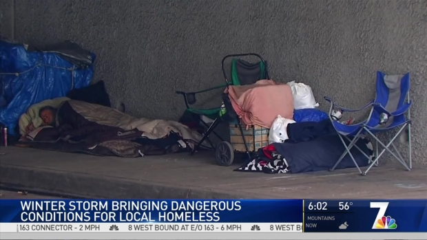 Shelters Open for San Diego's Homeless