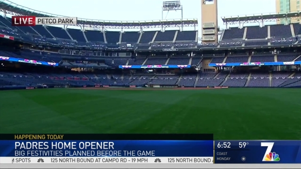 Padres Fans to Gather for Home Opener
