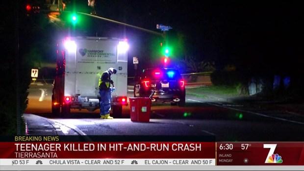 [DGO] Teen Dies in Fatal Hit & Run on Tierrasanta Road