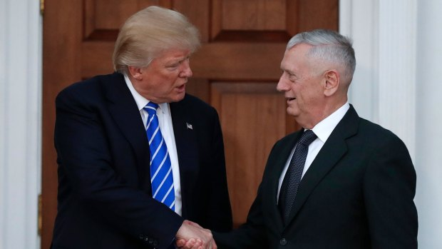 [NATL] Seen in Trump's Orbit: James Mattis
