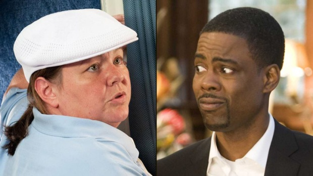 Chris Rock Writing Script for Himself and Melissa McCarthy