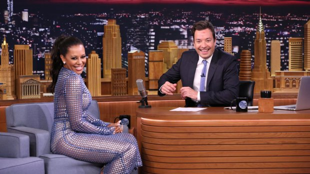 [NATL] 'Tonight Show': Mel B on Simon Cowell's Naughty Addition to 'America's Got Talent'