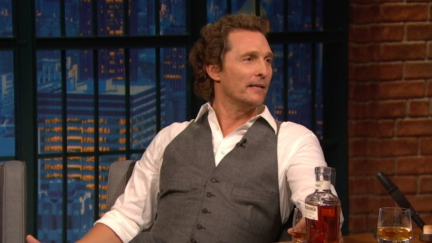 [NATL] 'Late Night': Matthew McConaughey Describes Whiskey Like Music